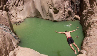 وادى الوشواش بقعه ساحرة ومغامرة رائعه تستحق التجربة فى جنوب سيناء