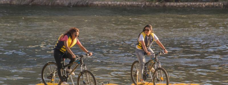 نايل بايك : خروجة ومغامرة جديدة بالعجلة فوق سطح النيل هتخليك تنبسط