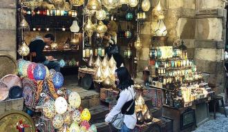 البوم صور من خان الخليلي بمناسبة رمضان
