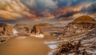 لعشاق المغامرة .. ازاي تقضي 3 ايام في أجمل رحلة للواحات البحرية والصحراء البيضاء