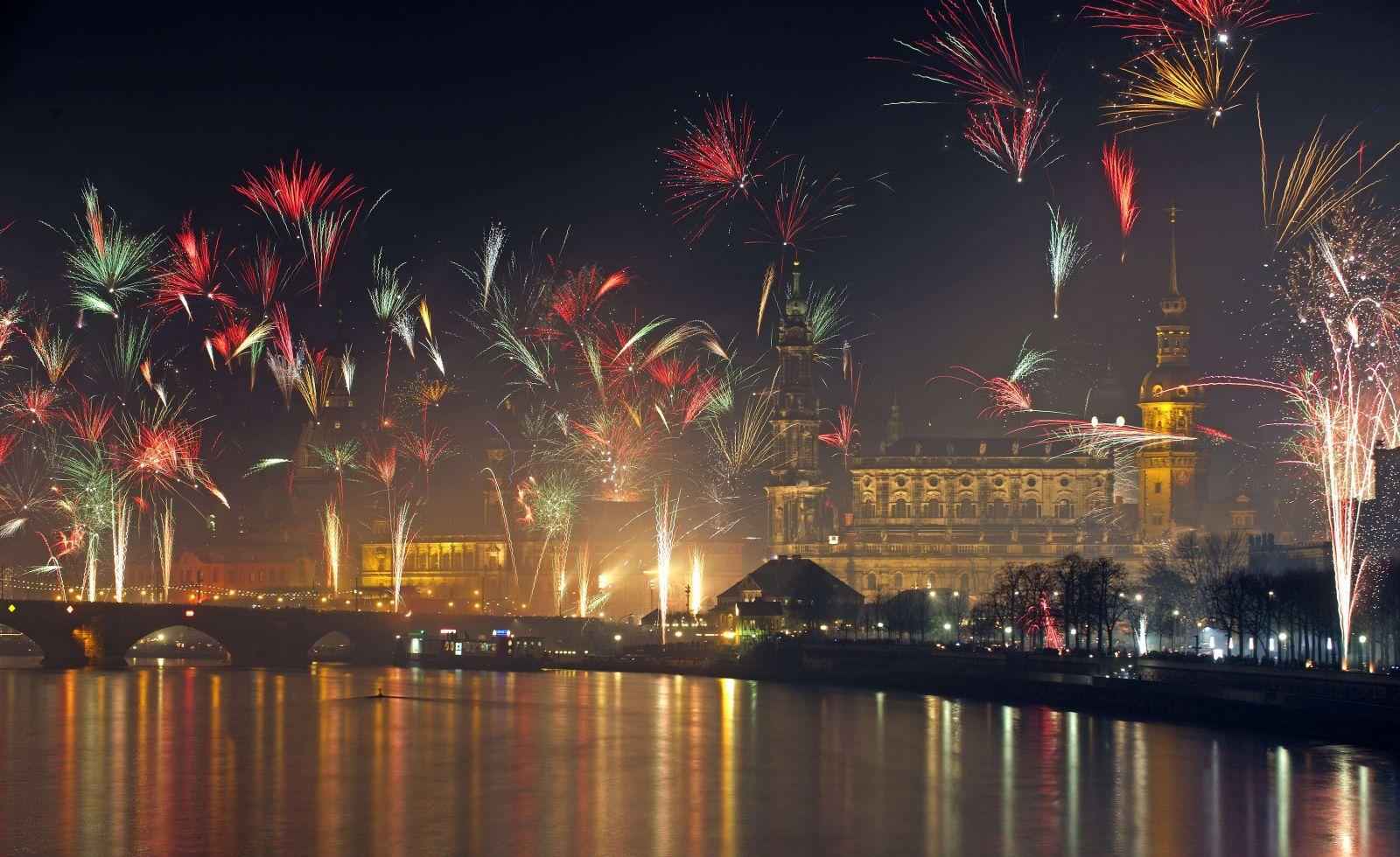 احتفالات راس السنة فى برلين