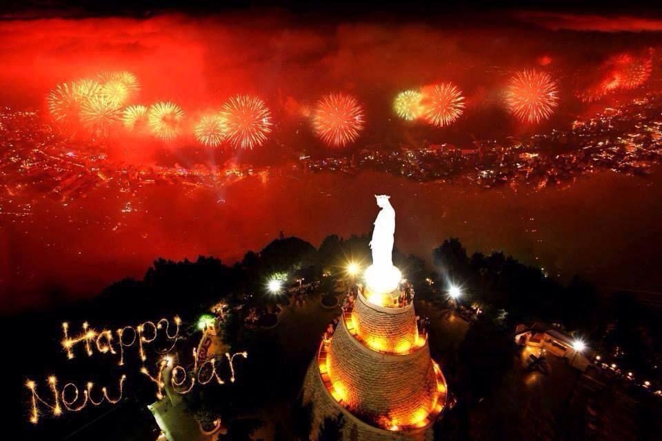 احتفالات راس السنة فى بيروت - لبنان
