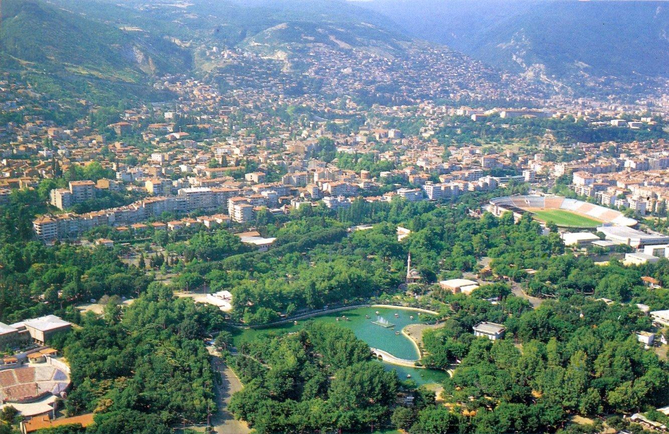 مدينة بورصة التركية