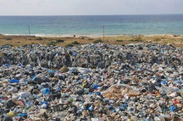 شواطئ لبنان الاكثر تلوثاً