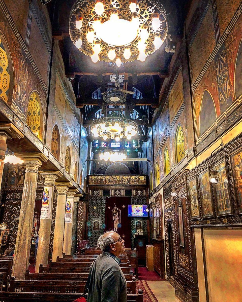 الكنيسة المعلقة بالقاهرة