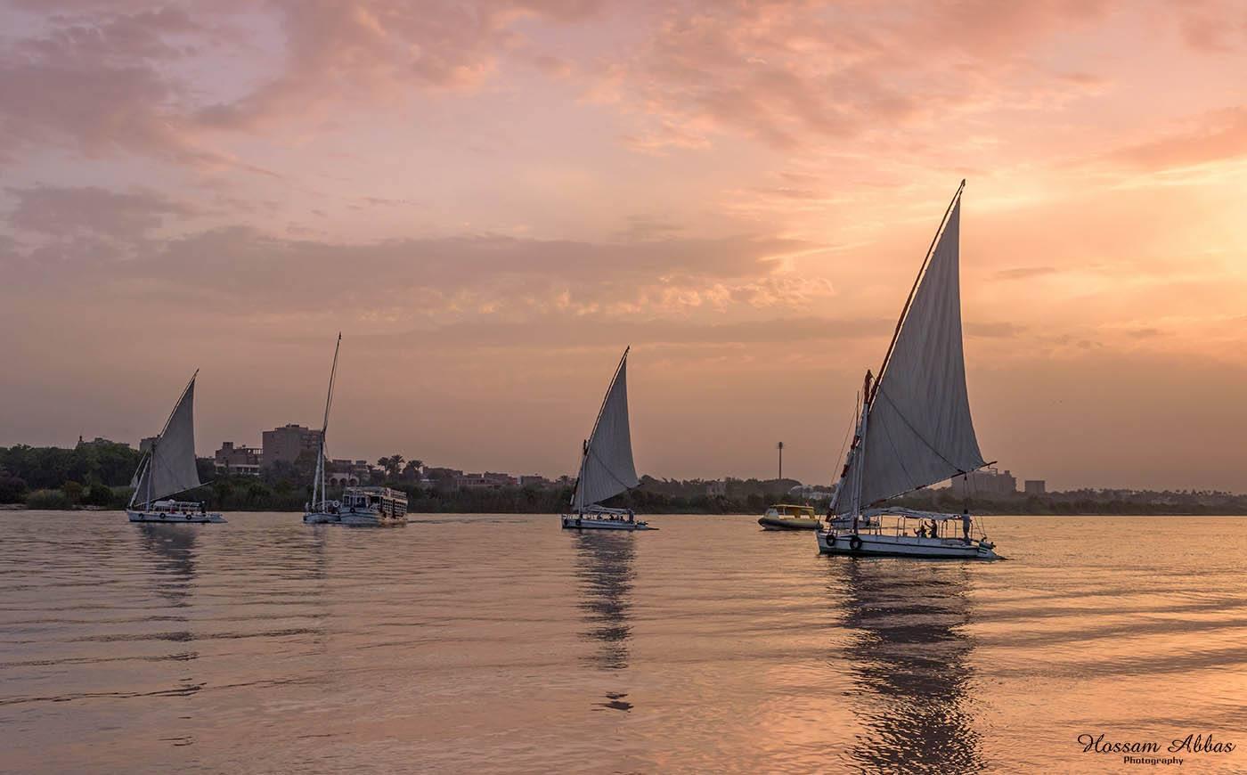 الرحلات النيلية فى كورنيش القاهرة