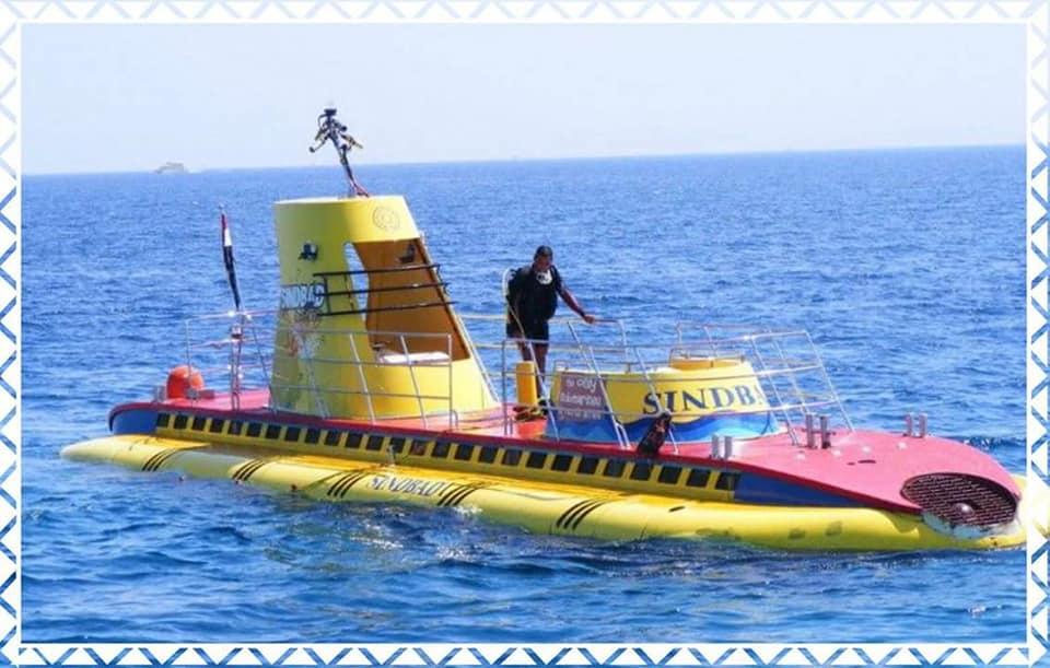 الغواصة سندباد بالغردقة