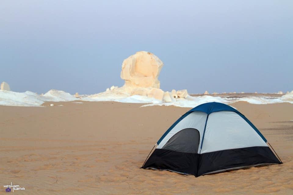 الواحات البحريه - الصحراء البيضاء