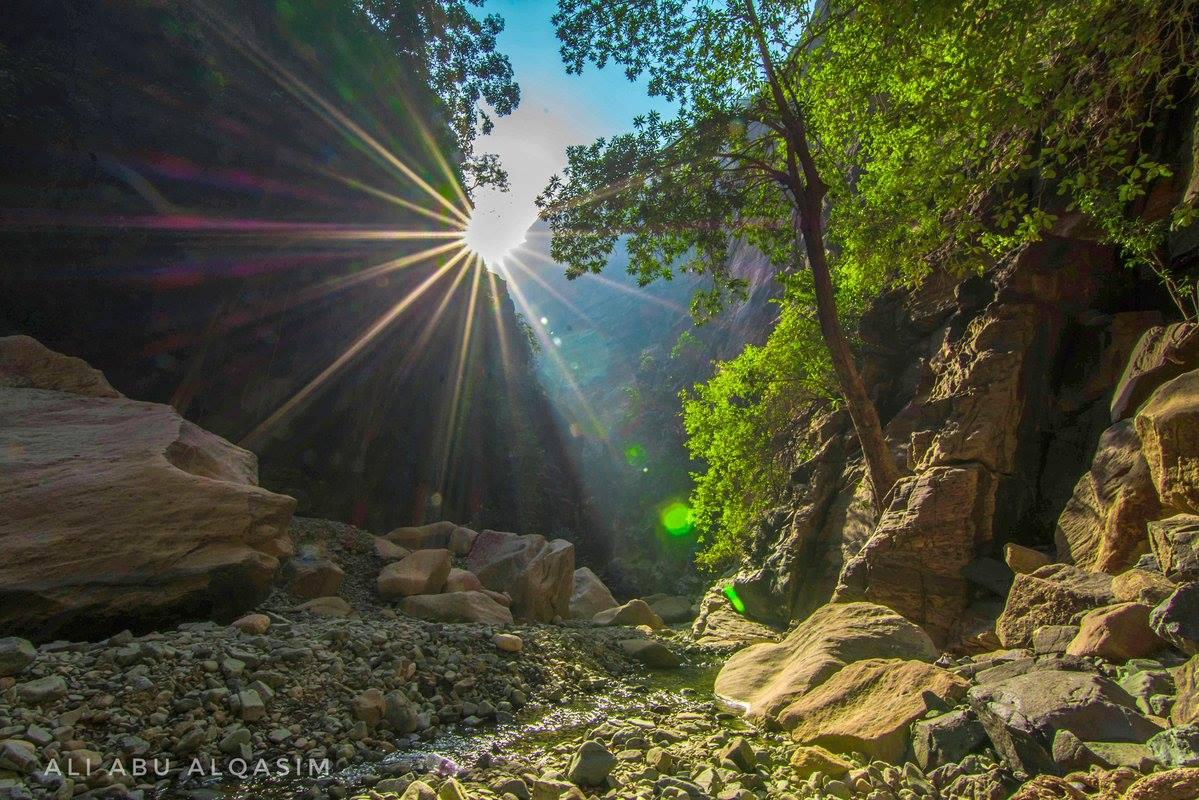 وادي لجب - جازان بالمملكة العربية السعودية
