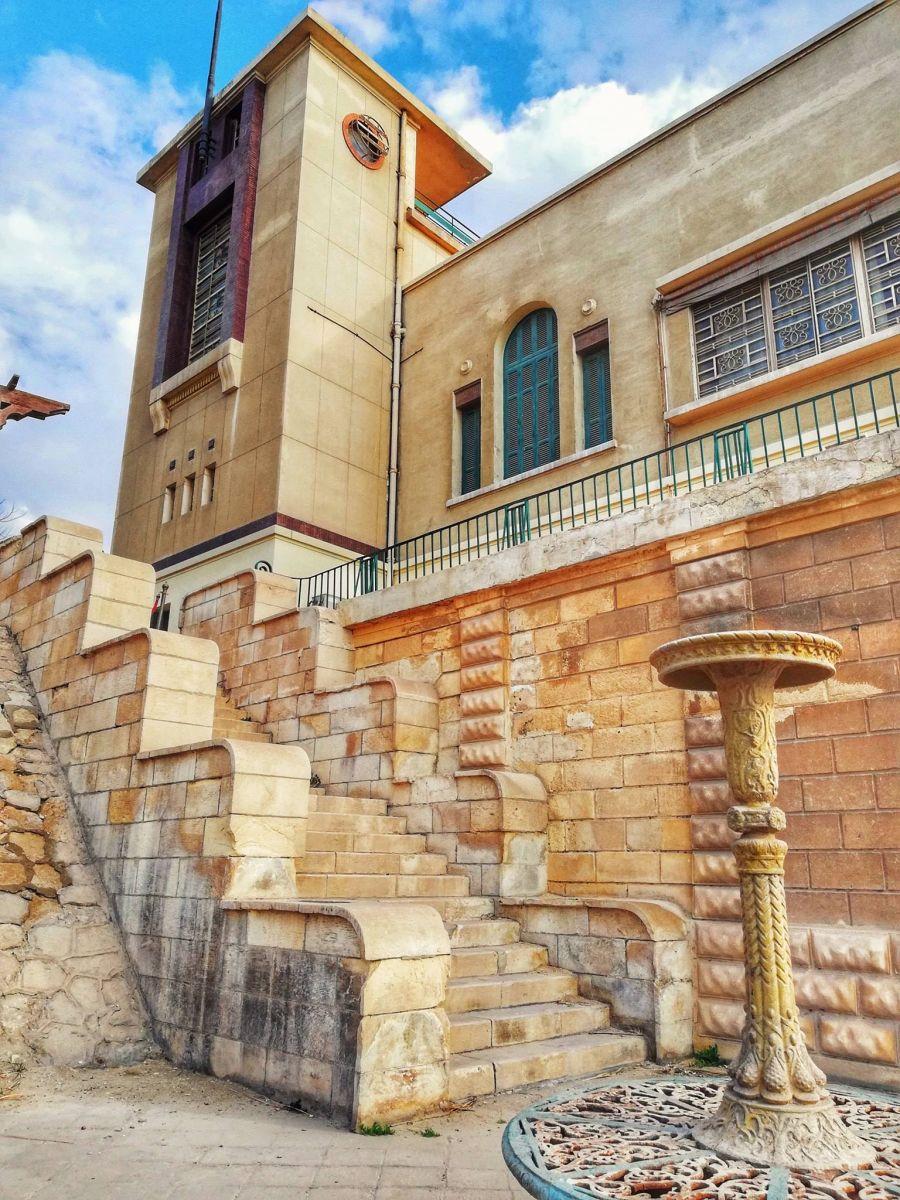 متحف ركن الملك فاروق  على كورنيش حلوان