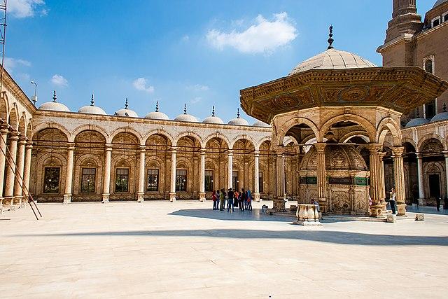 قلعة صلاح الدين الايوبي بالقاهرة