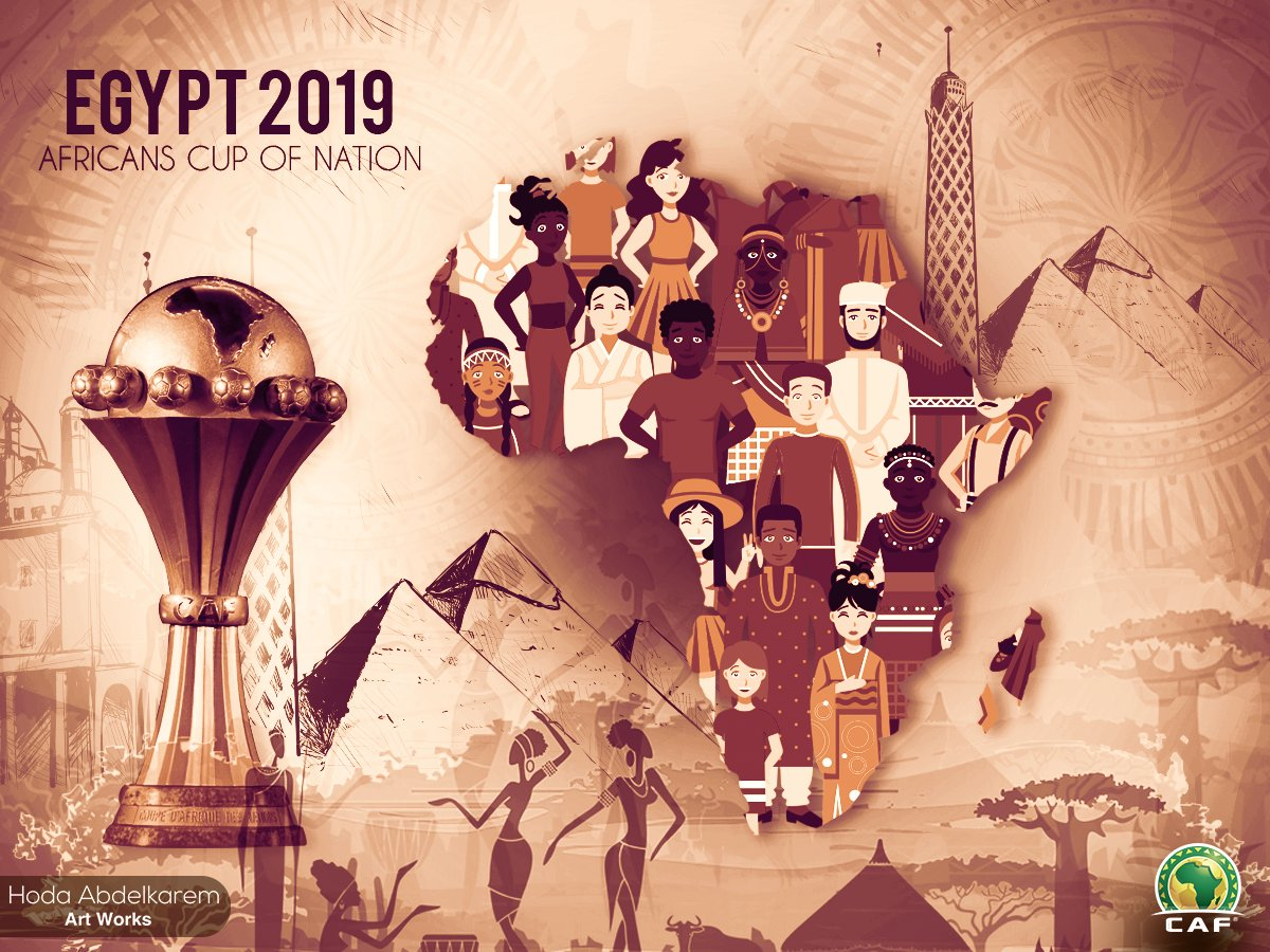 كأس الامم الافريقية فى مصر 2019