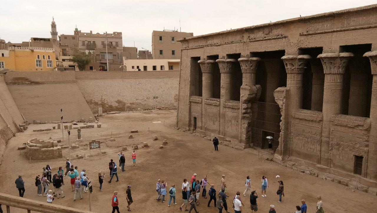 معبد خنوم بأسنا